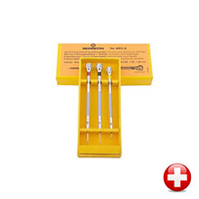Assortment of 3 screwdrivers from 0.8 mm