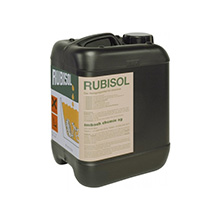 Rubisol, to be used in cleaning machines