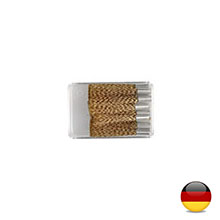 Spare brush brass wire ø 4mm