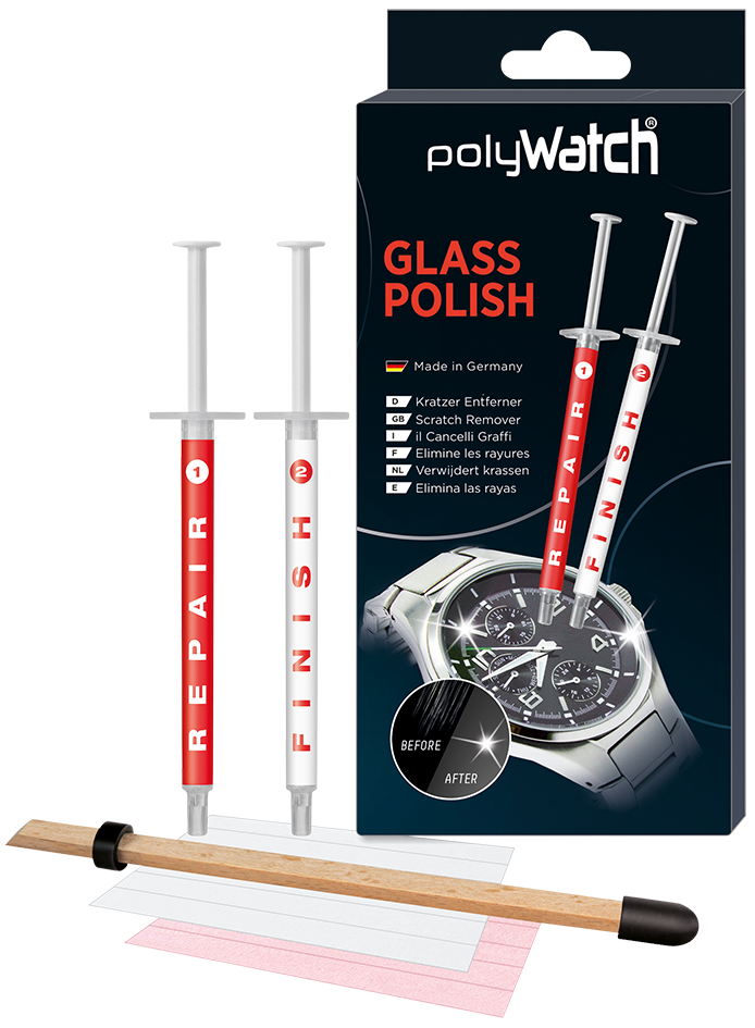 PolyWatch polissage verre